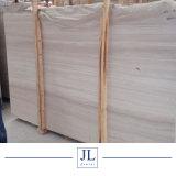 La Chine et du bois poli en bois blanc dalle de marbre du grain de bois et de carreaux de marbre de prix