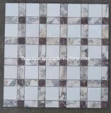 Azulejos de mosaico de mármol de piedra naturales