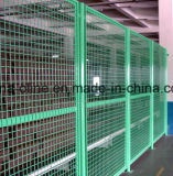 PVCによって塗られる溶接された鋼線の網の塀