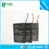 Batterie Li-ion de la tension 3.7V 6800mAh