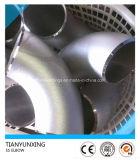 Rayon Long 316ti transparente 1.4571 Coude en acier inoxydable