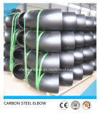 Coude de garnitures d'acier du carbone du soudage bout à bout d'A234wpb ASTM