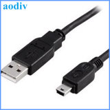 이동 전화를 위한 소형 5pin V3 USB Charging+Date 케이블 1m