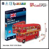 Giocattoli di puzzle del bus di doppio ponte 3D