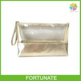 Bunte Unterstützungskundenspezifischer transparenter Belüftung-Fall-Kosmetik-Beutel