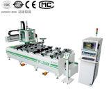 Braço único Router CNC Máquina de gravura de madeira com marcação PTP