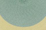 Färbt 100% pp. gesponnene der Platz-Matte für Tischplatte