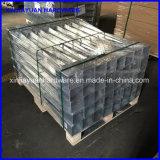 Baisse dans la transitoire galvanisée soudée de poste en métal pour la construction de bois de construction