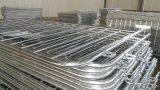 barriere galvanizzate tuffate calde di controllo di folla del peso 18kg /PCS dei tubi di 1100mm X 2200mmod 25