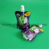 Kundenspezifische verpackende Fastfood- Beutel mit Tülle für Getränke