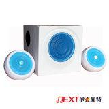 2.1 drôle en plastique Cube haut-parleurs portable Bluetooth®