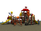 Stationnement préscolaire de jardin d'enfants bon marché neuf pour la glissière extérieure de cour de jeu d'enfants