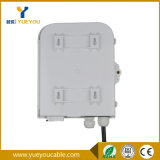 Boîtier de raccordement de câble de 8 ports FTTH extérieur avec séparateur de 1 * 8 PLC