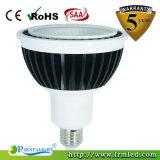 Alumínio de alta qualidade 12W E27 E26 Par30 Luz de LED