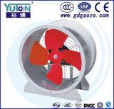 De Industriële Ventilator met geringe geluidssterkte van de Uitlaat van de Buis As