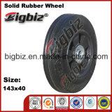 Rodas de borracha de 120 mm de diâmetro para venda