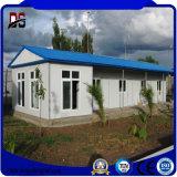 Casa de acero prefabricada de la casa modular moderna de los edificios de la estructura de acero