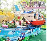 Divertente e sicuro Amusement Equipment Family Rides Rotary Aircraft Park Corse in aereo automatiche