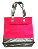 金属PUの美の戦闘状況表示板の買物客袋が付いている女性のキャンバス