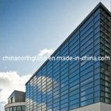 建物およびプロジェクトのための露出された組み立てのガラスカーテン・ウォール