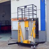 Doppelmast-Luftarbeit-Plattform für maximale Höhe 6m