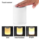 Lampe de table LED Réveil Bluetooth Haut-parleur pour téléphone