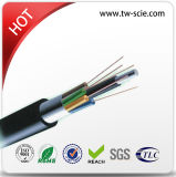 96 de tubo de Core Multi cable de fibra óptica (GYTA) por metro
