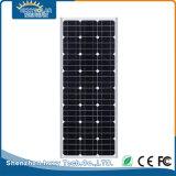60W todo en una luz de calle solar integrada al aire libre del LED