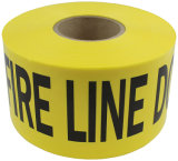 High Quality Red Yellow Color Safety Warning Plastic PE Barrier Tape