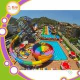 Equipamento do parque de diversões da corrediça do parque da água da fibra de vidro para miúdos