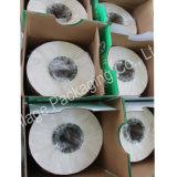 Blanc pur, 750mm*25mic*1800m, film agricole d'enveloppe d'extension de LLDPE/film d'extension pour le film d'enveloppe d'ensilage/foin