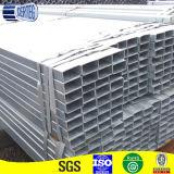 Tubo rectangular galvanizado retirado a frío del acero de la dimensión de una variable de la selección del tratamiento