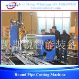 Machine taillante de pipe ronde de commande numérique par ordinateur
