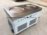 新製品のタイ平らな鍋の揚げ物のアイスクリームロール機械