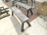 体操装置の平らなベンチ、屋内ボディービルの練習機械