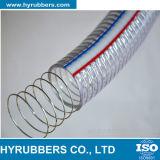 Belüftung-gewundenes Stahldraht-verstärktes Schlauch transparentes Belüftung-Rohr