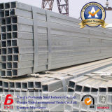 Grosses Größen-Quadrat und rechteckiges Stahlrohr