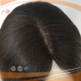 De mooie 100% Zwarte Braziliaanse Pruik van Sheitel van het Menselijke Haar
