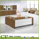 Muebles de oficina de metal moderno de la Oficina de la pierna con armario lateral