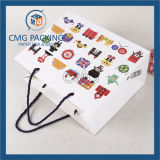 De romantische Purpere Zak van het Document van Kraftpapier met de Kabel van pp (DM-gpbb-041)