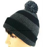 Exportación a Europa, al sombrero hecho punto bordado del casquillo y al casquillo de la gorrita tejida del invierno