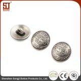 Botón individual del broche de presión del metal de Monocolor