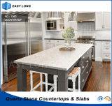 Partie supérieure du comptoir mieux évaluées de quartz pour les matériaux de construction à la maison de décoration avec l'état de GV (couleurs de marbre)