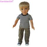 Новые поступления 18 дюйма мальчик мини-картонной упаковке виниловых кукол Детский Мягкая игрушка со спортивными тканью
