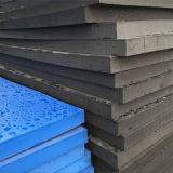 Espuma de caucho EVA moldeada de color oscuro y azul claro