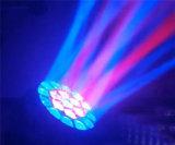 ojos de las abejas de 19PCS LED que mueven la luz principal de la etapa de DJ
