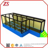 I bambini alloggiano la zona dell'interno del trampolino con il sacchetto di aria