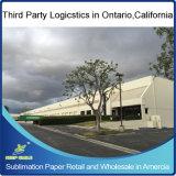 """Roll Retail 64 """"Wide, 328 'Long, 3"""" Core, 100GSM Fast Dry Regular Sublimation Papel de transferência de calor na Califórnia dos EUA"""