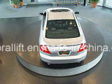Plataforma do carro de Roataing para o estacionamento e o indicador