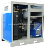 Compresor de tornillo rotativo accionado por correa eléctrica